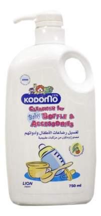 Жидкость Kodomo для мытья детских бутылок и сосок с дозатором 750 мл