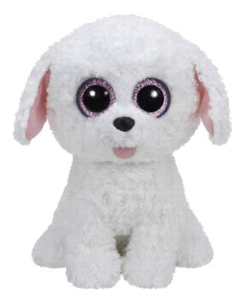 Мягкая игрушка TY Beanie Boos Щенок (белый) Pippie, 25 см
