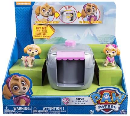 Игровой набор Paw Patrol Два щенка в домике
