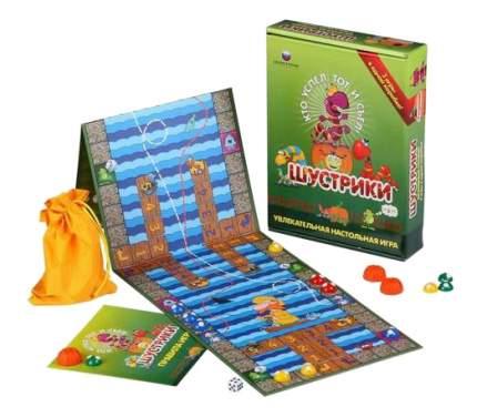 Семейная настольная игра Биплант Шустрики 3 в 1 10024