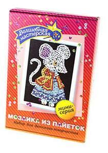Мозаика из пайеток Волшебная мастерская Мышка