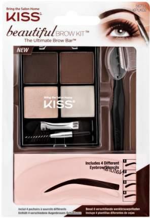 Набор для моделирования бровей KISS Beautiful