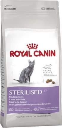 Сухой корм для кошек ROYAL CANIN Sterilised 37, для стерилизованных, 0,4кг