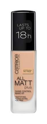 Тональный крем Catrice All Matt Plus Shine Control Make Up Amber Beige №027 30 мл