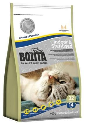 Сухой корм для кошек BOZITA Function Indoor & Steralised, курица, 0,4кг