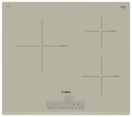 Встраиваемая варочная панель индукционная Bosch PUC633FB1E Black