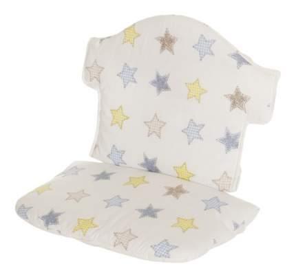 """Мягкая вставка для стульчика Geuther """"Swing"""" белая со звездами (цвет 154)"""