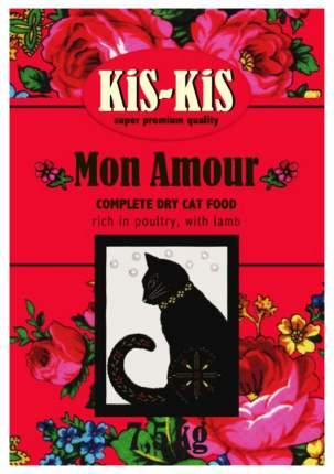 Сухой корм для кошек KiS-KiS Mon Amour, ягненок, 7,5кг