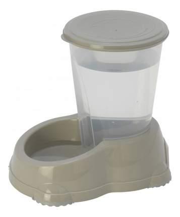 Кормушка-автопоилка для кошек и собак MODERNA, серый, 1.5 л