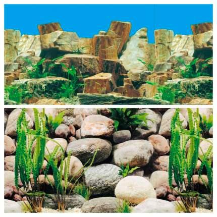 Фон для аквариума Laguna Камни/камни, ламинированная бумага, 1500x60 см