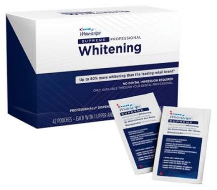 Пластина для отбеливания зубов Crest Whitestrips Supreme Professional 84 шт