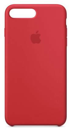 Кейс для Apple iPhone 8 Plus/7 Plus Silicone (PRODUCT) RED