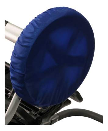 Чехол на колеса детской коляски Чудо-Чадо 4 шт. 28-38 см василек