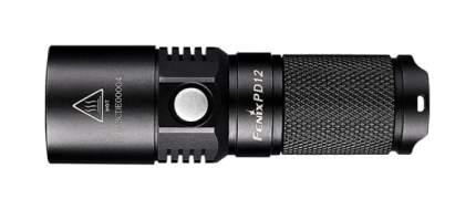 Туристический фонарь Fenix PD12 T6 черный, 4 режима