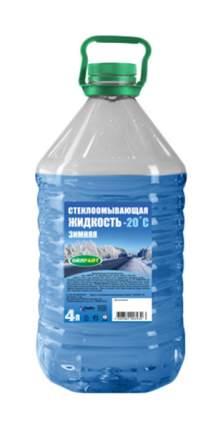 Жидкость стеклоомывателя зимняя OILRIGHT -20°C 4л 5206