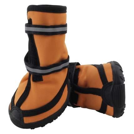Обувь для собак Triol размер XXL, 4 шт оранжевый