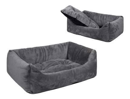 Лежанка для собак Дарэлл 75x103x27см серый