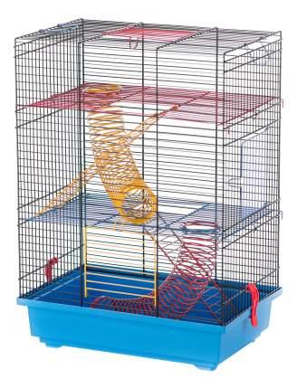 Клетка для крыс, морских свинок, мышей, хомяков INTER-ZOO 51х25х37см