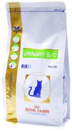 Сухой корм для кошек ROYAL CANIN Urinary S/O, лечение и профилактика МКБ, 0,4кг
