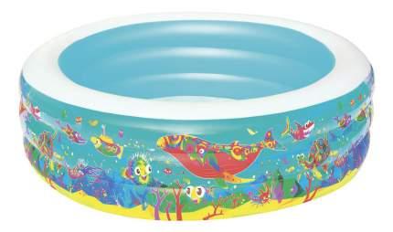 """Детский круглый бассейн BestWay 51122 """"Подводный мир"""", 196х53 см"""