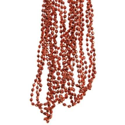 Kaemingk Бусы пластиковые Алмазная Россыпь 270 см оранжевый осенний 001601