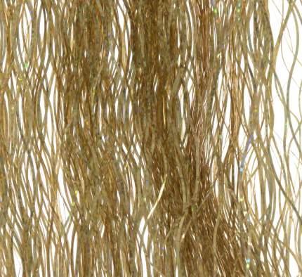 Kaemingk Дождик волнистый голографический 50*40 см золотой 434477