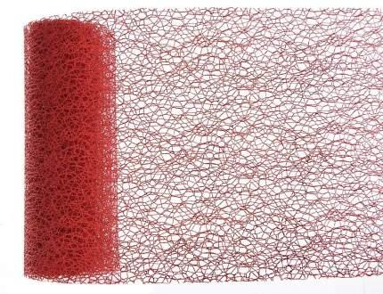 Kaemingk Декоративная лента Ажурная 200*15 см красная 448587