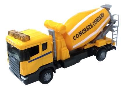 Машина металлическая scania mixer бетономешалка 1:48 Autotime 9824