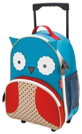 Чемодан детский Skip Hop Zoo Luggage Сова SH 212304