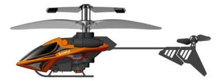 Мой первый вертолет оранжевый Silverlit 84689-1