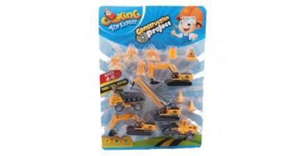 Игровой набор строительная техника с фигурками Shenzhen toys В78577