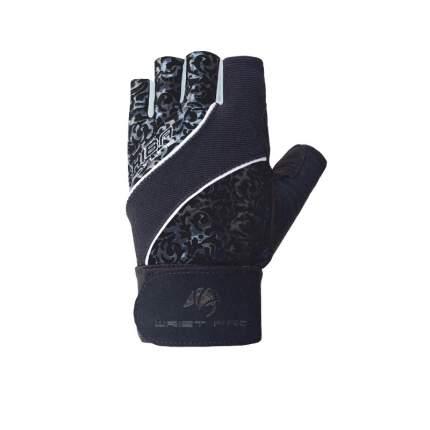 Перчатки для фитнеса и тяжелой атлетики Chiba Lady Wristpro черные M