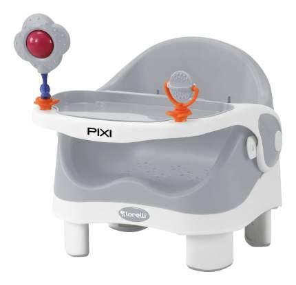 Стульчик для кормления Pixi серо-белый Bertoni (Lorelli) 10100283