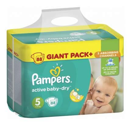 Подгузники одноразовые 11-18 кг, Active Baby-Dry Junior 5 11-18 кг Pampers PA-81637340