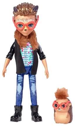 Кукла Enchantimals Хиксби Ежик с питомцем 15 см