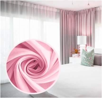 Штора Amore Mio 77557 розовый 270x300