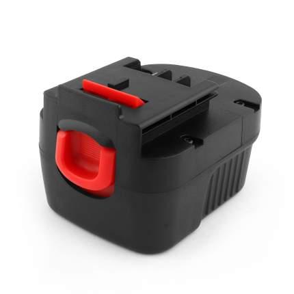 Аккумулятор для Black & Decker 12V 1.5Ah (Ni-Cd) PN: A12, A12E, A12EX.
