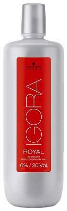 Лосьон-окислитель Schwarzkopf Professional Igora Royal 6% 1000 мл