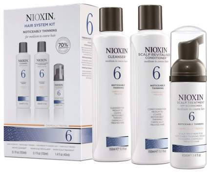 Подарочный набор Nioxin System 6 150 мл+150 мл+40 мл