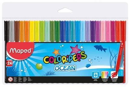 Набор фломастеров Maped Color Peps Ocean 24 цветов