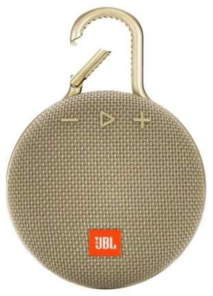 Беспроводная акустика JBL Clip 3 Sand Beige (JBLCLIP3SAND)
