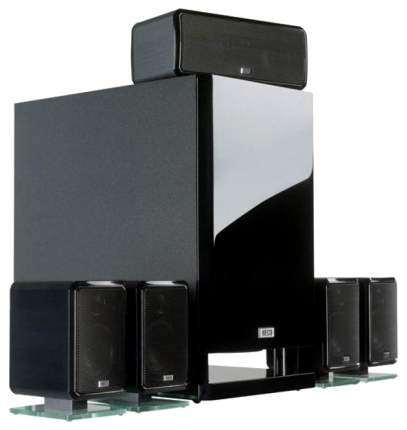 Комплект акустической системы Heco Ambient 5,1 A Вlack