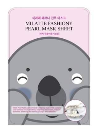 Маска Milatte с экстрактом жемчуга тканевая, 21 г