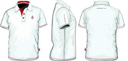 Мужская рубашка поло Mitsubishi RU000014 White