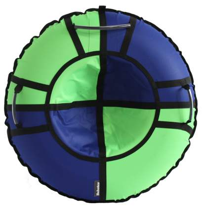 Тюбинг Hubster Хайп синий-салатовый 110 см