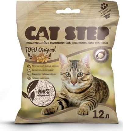 Наполнитель  для кошачьего туалета Cat Step Tofu Original, комкующийся, 12 л
