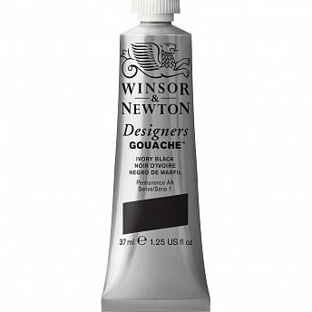 Гуашь Winsor&Newton Designers Gouache черный слоновая кость 14 мл