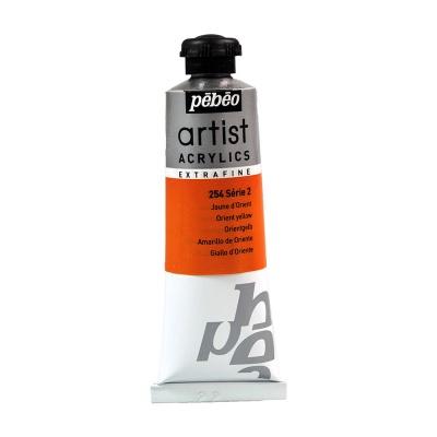 Акриловая краска Pebeo Artist Acrylics extra fine №2 желтый восточный 37 мл