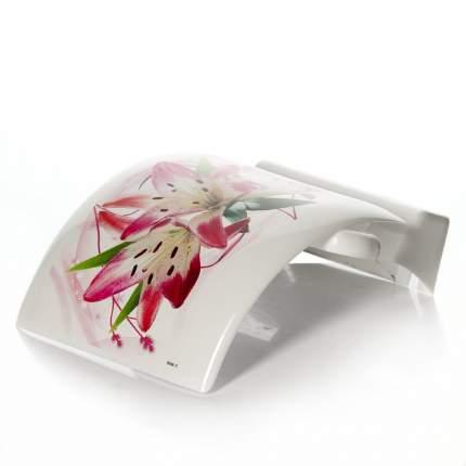 Держатель для туалетной бумаги ДЕКО (лилия)