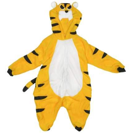 Пижама-кигуруми Lilkrok Жёлтый Тигр 170-179 см